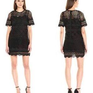 Kendall + Kylie Crochet Shift Dress